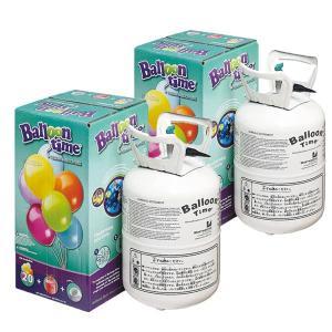 バルーンタイム小・120Lヘリウム缶(風船用ヘリウムガス)2本セット |happy-balloon