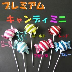 プレミアムキャンディミニ スティックバルーン・色別・10本セット |happy-balloon
