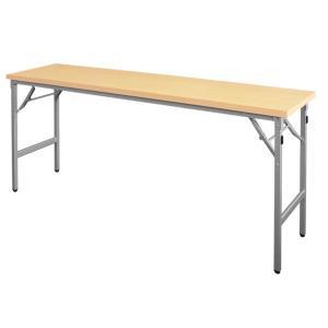 折りたたみ会議テーブル AT-1860NT(棚無・共巻)|happy-circle