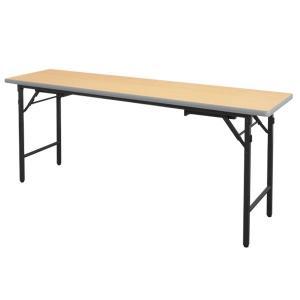 折りたたみ会議テーブル HLT-1860S(ソフトエッジ巻)