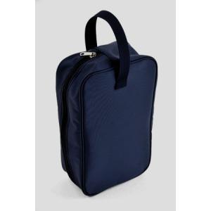 紺色ナイロン製シューズバッグ お子様用|happy-clover