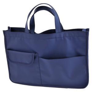 紺色ナイロン製レッスンバッグ お子様用|happy-clover