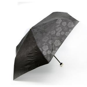 ローズ柄 晴雨兼用傘 紫外線遮蔽率99%以上|happy-clover
