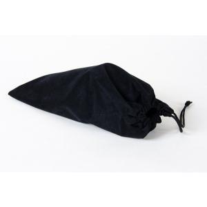 お受験 スリッパ 袋 百貨店仕様 スリッパ袋 日本製 スリッパ入れ スリッパ携帯用 巾着 携帯スリッパ入れ 携帯スリッパ巾着 上品 黒 お母様 お父様 母親 父親|happy-clover