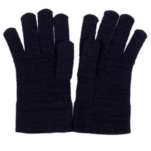 キッズ ウール手袋 濃紺 3サイズ 選べる 男の子 女の子 通園 通学用 完全日本製