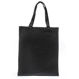 お受験 バッグ ママ サブバッグ 縦型 縦 リボンサブバッグ  Lサイズ 紺 黒 マチ付き B4 お受験バッグ お母様用 バック|happy-clover|02