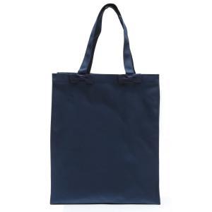 お受験 バッグ ママ サブバッグ 縦型 縦 リボンサブバッグ  Lサイズ 紺 黒 マチ付き B4 お受験バッグ お母様用 バック|happy-clover|03