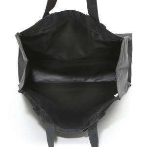 お受験 バッグ ママ サブバッグ 縦型 縦 リボンサブバッグ  Lサイズ 紺 黒 マチ付き B4 お受験バッグ お母様用 バック|happy-clover|09