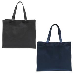 お受験 バッグ ママ サブバッグ 横型 横 リボンサブバッグ  Lサイズ 紺 黒 マチ付き B4 お受験バッグ お母様用 バック|happy-clover