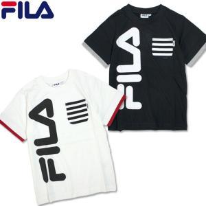 半袖 Tシャツ キッズ FILA(フィラ) 綿100% 子供 半袖Tシャツ 130cm 140cm ...