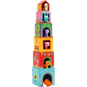 DJECO パズルキューブ タパニファーム DJ09108| 出産祝い 出産内祝い ギフト 贈り物 贈答品 おもちゃ TOY BABY 誕生祝い|happy-giftnomori