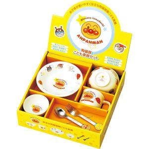アンパンマン お子様食器ギフトセットM #074740|出産祝い 出産内祝い ギフト 贈り物 贈答品  BABY 誕生祝い お返し|happy-giftnomori