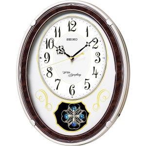 セイコー 正時メロディ電波掛時計 AM259B| 内祝 結婚祝 出産祝 御祝 ギフト 贈り物 贈答品 記念品 お返し 景品 SEIKO|happy-giftnomori