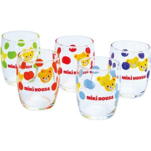 ミキハウス ミニグラスセット 10-8916-672|happy-giftnomori