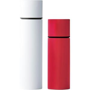 ペアリップスティックボトル ホワイト&レッド 52176|happy-giftnomori