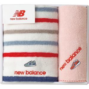 new balance フェイスタオル・タオルハンカチ ピンク NBP-15-PI| 内祝い 結婚祝い 出産祝い 御祝 ギフト 贈り物 贈答品 お中元 お歳暮 記念品 お返し|happy-giftnomori