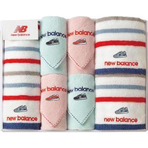 new balance フェイスタオル3P・タオルハンカチ4P NBP-50| 内祝い 結婚祝い 出産祝い 御祝 ギフト 贈り物 贈答品 お中元 お歳暮 記念品 お返し|happy-giftnomori