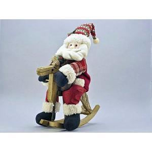 馬乗りサンタサンタ おすすめ クリスマス ギフト プレゼント 人気 サンタクロース 馬|happy-goods