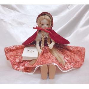 若月まり子 ビスクドール赤ずきんビスクドール 妖精 赤ずきんちゃん 陶器 お人形 ギフト お祝い 記念品 陶器05P18Jun16 05P09Jul happy-goods