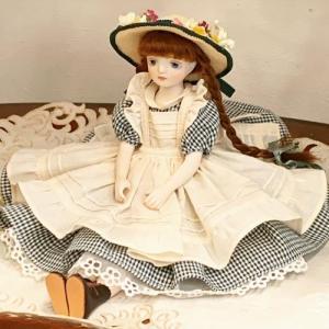 かわいらしい衣装とお顔が素敵な「赤毛のアン」のお人形です♪ 工房ではご注文をお受けしてから若月さんご...