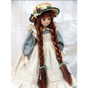 若月まり子 ビスクドール「赤毛のアン」(ドールスタンド付)ビスクドール 赤毛のアン 陶器 お人形 ギフト お祝い 記念品 陶器 happy-goods