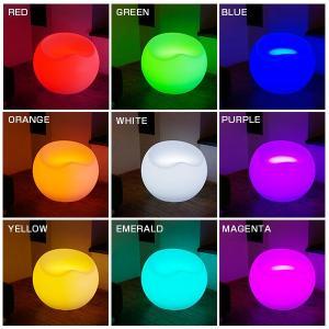 LED チェア STOOLZ 2(スツールズ2) 充電式 リモコン付き led イルミネーション 屋外 パーティー 光る チェア 北欧 お洒落 イス 光るイス ホームパーティー|happy-joint|09