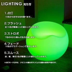 LED チェア STOOLZ 2(スツールズ2) 充電式 リモコン付き led イルミネーション 屋外 パーティー 光る チェア 北欧 お洒落 イス 光るイス ホームパーティー|happy-joint|10