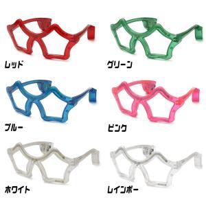 光るサングラス スタータイプ 全6色 | 光る眼鏡 星 スター LED サングラス 光る メガネ めがね アイウェア おもしろ 光るおもちゃ 光るグッズ|happy-joint|02