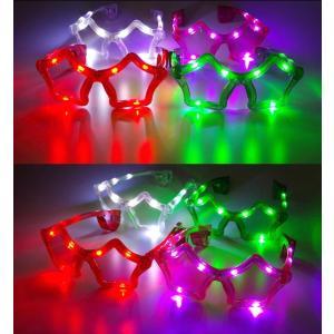 光るサングラス スタータイプ 全6色 | 光る眼鏡 星 スター LED サングラス 光る メガネ めがね アイウェア おもしろ 光るおもちゃ 光るグッズ|happy-joint|05