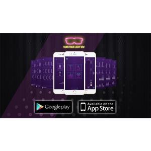 光るサングラス Chemion / ケミオン LED ディスプレイグラス |  スマートグラス LEON プレゼント 彼氏 パリピ サングラス メガネ めがね  光る LEDサングラス ||happy-joint|03