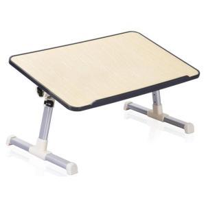 Outpicker 折り畳みテーブル ローテーブル パソコンテーブル 放熱 角度高さ調整 ちゃぶ台 ...
