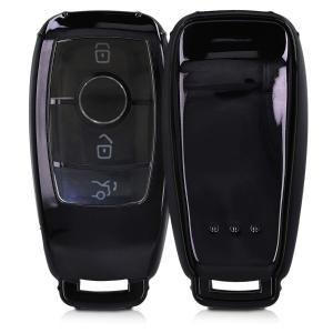 kwmobile Mercedes Benz 用 カーキー ケース - TPU製 フルボディ車の鍵 ...