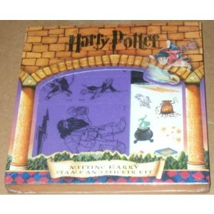 おもちゃ ハリーポッターHarry Potter: Meeting Harry Stamp and Sticker Kit (Harry Potter, 12) 正規輸入品