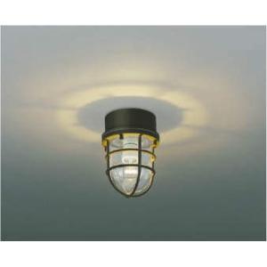 コイズミ照明白熱60W相当軒下防雨型LEDシーリングライトAU38416L|happy-light