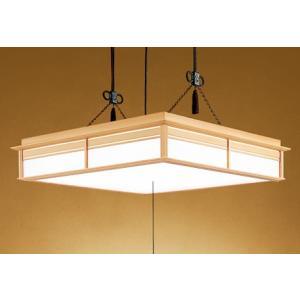 オーデリック LED和風ペンダント〜14畳 調光調色タイプ OP252158 |happy-light