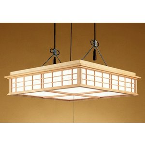 ODELICオーデリック リモコン付LED和風ペンダント〜14畳 調光調色タイプ OP252160|happy-light