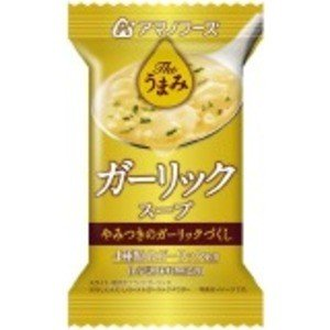 〔まとめ買い〕アマノフーズ Theうまみ ガーリックスープ 7g(フリーズドライ) 60個(1ケース...