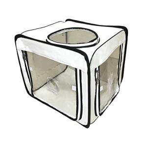 ペット用酸素室・酸素ケージ・酸素テント『ペット・オキシ・ホテル 』 (【Sサイズ】外寸:巾50 ×奥60×高50cm)|happy-square