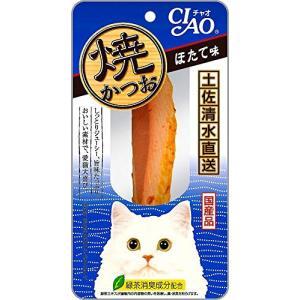 【ケース販売】チャオ 焼かつお ほたて味 1本48コ|happy-square