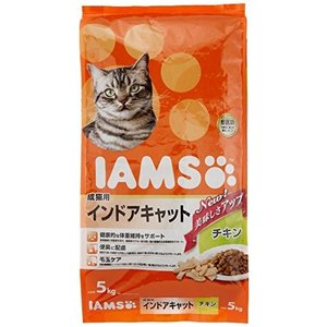 アイムス (IAMS) 成猫用 インドアキャット チキン 5kgx2個 (ケース販売)|happy-square