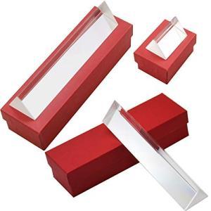 フェリモア プリズム 三角 光学ガラス 三角プリズム 屈折 15cm 10cm 5cm 3種セット|happy-square