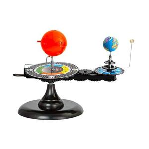 フェリモア 天体 軌道模型 動く太陽系模型 惑星軌道 太陽 地球 月 三球儀 プラネタリウム|happy-square