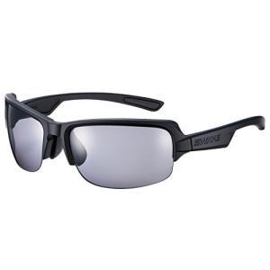 SWANS(スワンズ) スポーツ 偏光 サングラス ディーエフ 偏光レンズ モデル DF-0051 MBK マットブラックマットブラッ|happy-square