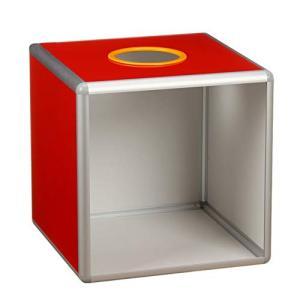 フェリモア 抽選箱 抽選 ボックス 前面透明タイプ 抽選会 応募箱 ビッグサイズ 景品 くじ引き|happy-square