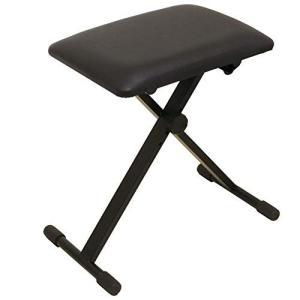 ARIA KB-200 4段階高さ調整 折り畳みイス/キーボードベンチ/ピアノ椅子|happy-square
