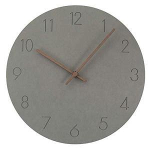 フェリモア 北欧風 壁掛け時計 ウォールクロック 静音設計 連続秒針 ノンフレーム インテリア時計|happy-square