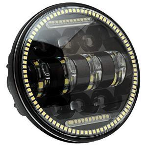 BLIAUTO 5.75インチ ledヘッドライト ハーレー led ヘッドライト ledホワイト 6000K 防水 IP67 ハーレー適用 ウィンカー l|happy-square
