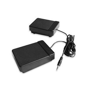 HAMILO サスティンペダル ダンパーペダル ソフトペダル キーボード 電子ピアノ 延音 弱音 (ブラック)|happy-square