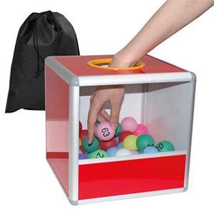 nullie ビンゴセット 抽選 くじ引き 番号付きボール1-75 予備球付き パーティー 二次会 (ボール77個)|happy-square