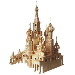フェリモア 立体パズル クラフトキット 組み立て 3D 木製 DIY サンクトペテルブルク大聖堂|happy-square